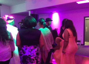 Dancing continues at the recent launching of Celebrity Hall in Inglewood, California, U.S.A.