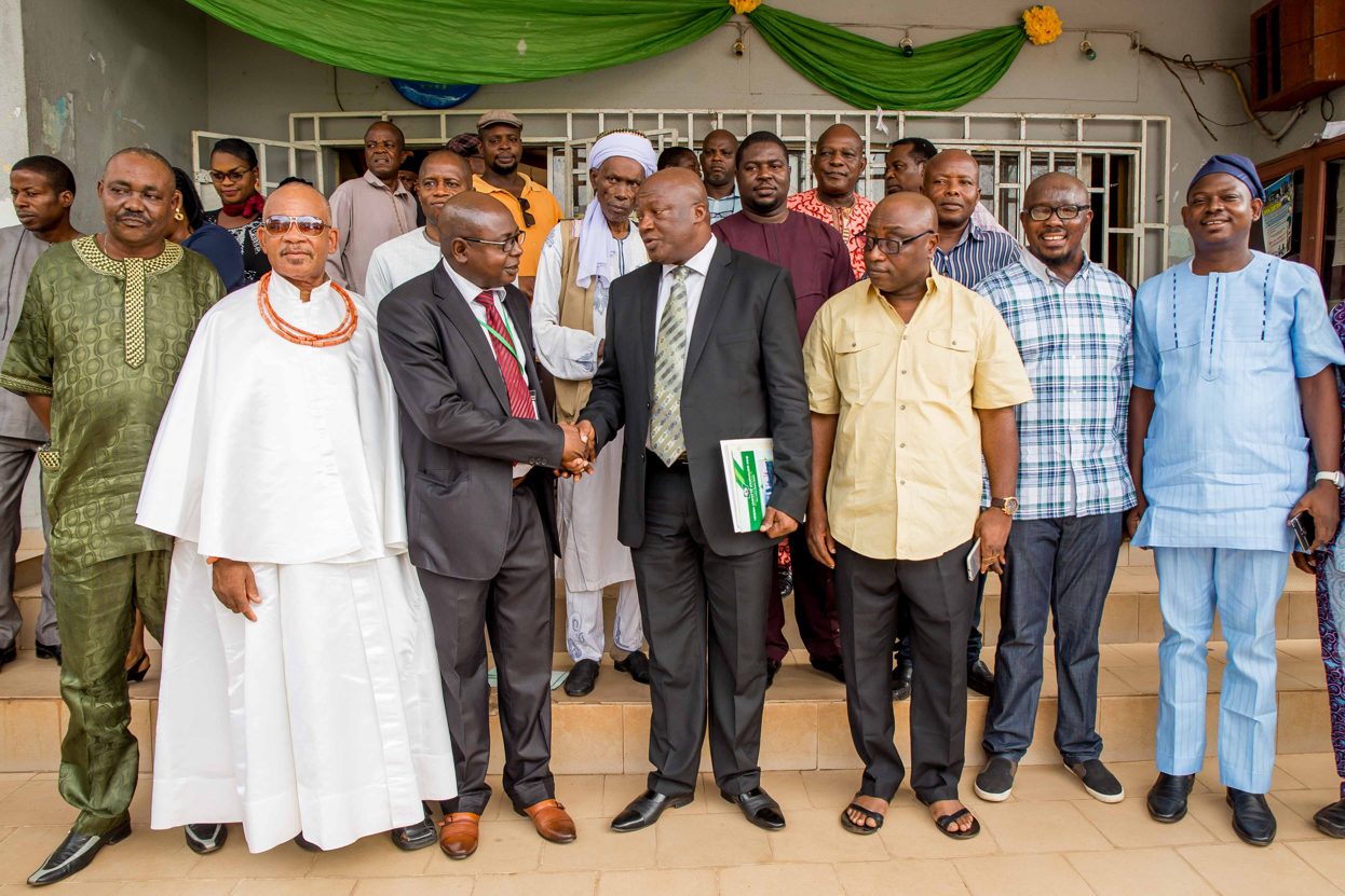 Secretary to the State Government, Osarodion Ogie Esq. in a group picture with other dignitaries who graced the occasion