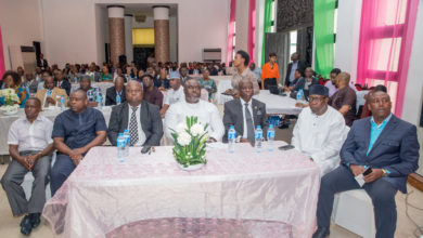 "Cross-section of Edo State Executive Council members attending the seminar on ""Essentials in Public Procurement Process and Organisation"" at the Government House in Benin City on Thursday, September 07, 2017."