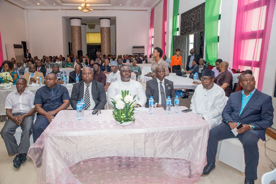 """Cross-section of Edo State Executive Council members attending the seminar on """"Essentials in Public Procurement Process and Organisation"""" at the Government House in Benin City on Thursday, September 07, 2017."""